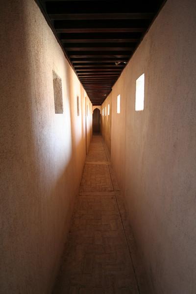 Hallway to Dormitories - Zawiya/Madrasa Complex, Salé
