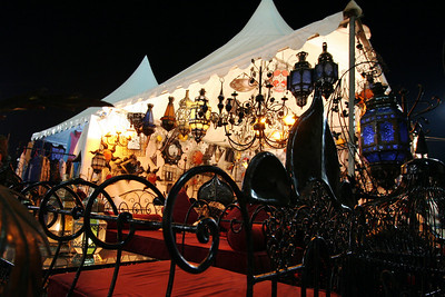 Lamp Shop - Tent Market, Marrakech