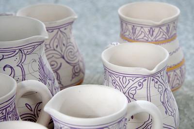 Creamers - Art Naji Pottery, Fes