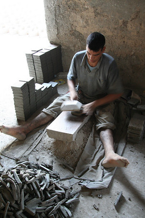 Tile Maker - Art Naji Pottery, Fes