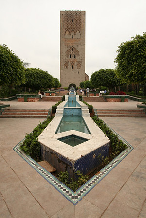 Hassan Tower Courtyard - Rabat