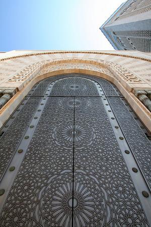Entryway - Masjid Hassan II, Casablanca