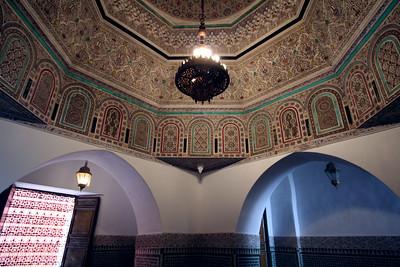 Inner Sanctum - Tomb of Sidi Cadi Ayad, Marrakech
