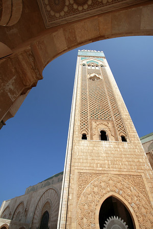 Minaret - Masjid Hassan II, Casablanca