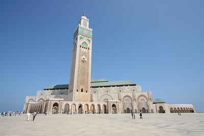 Panorama - Masjid Hassan II, Casablanca