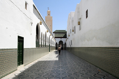 Entry Path - Mosque, Moulay Idriss