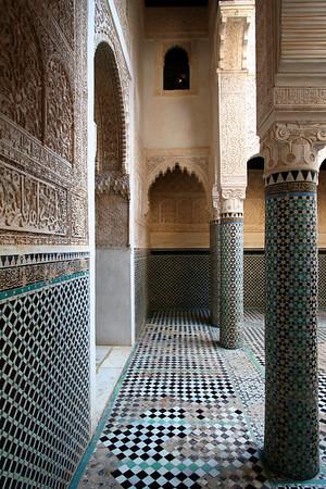 Courtyard - Zawiya/Madrasa Complex, Salé