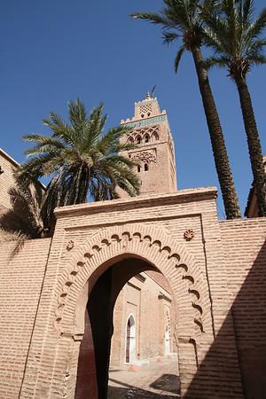 Entryway - Koutoubia Mosque, Marrakech
