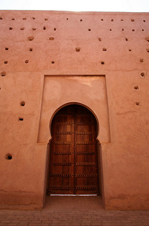 Doorway - Almohad Dynasty Mosque, Tinmal