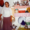 Wife...this is the kitchen and her cooking tools in the cave house.