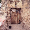 Entrance to cave house