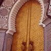Mosque door.
