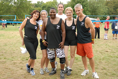 Anne ,Dawn, Keith, Mike, Rose and Brett...Team Zebra