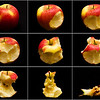 How to eat an apple