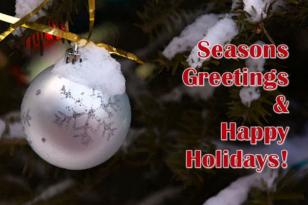 December 25, 09<br /> <br /> Merry Christmas and Happy Holidays to you and your family!