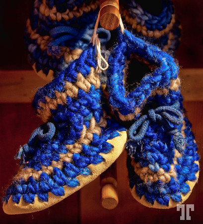 Moccasins for the Canadian winter
