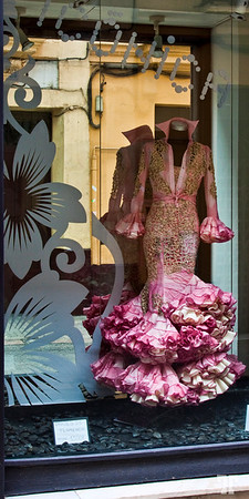 Flamenco dress, Sevilla