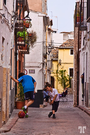 22 May 09<br /> <br /> Street in Sagunto, Spain<br /> (more details to see on X3) andalucia