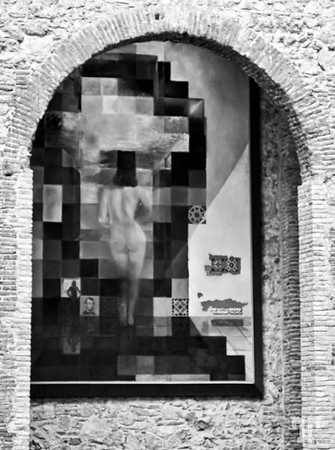 """9 June 09  Dali museum, Figueres, Spain - Optical Illusion :)  I was so, so lucky to have the opportunity of visiting Dali's museum in Figueres, yesterday!!!  * Better viewed at X2, X3  See more from this museum here:  <a href=""""http://allbiz.smugmug.com/Travel/Europe/Spain-Figueras-Gala-Salvador/8506738_vjWyk#559956390_HLym4"""" target=""""_blank"""">http://allbiz.smugmug.com/Travel/Europe/Spain-Figueras-Gala-Salvador/8506738_vjWyk#559956390_HLym4</a>"""