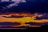 Sun Sets over Antelope Island