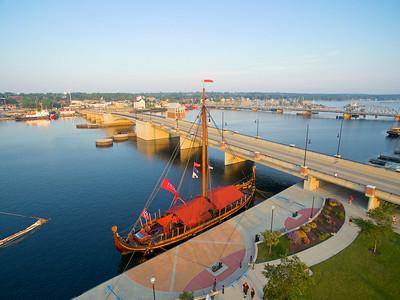 Draken Harald Hårfagre, Tall Ships Sturgeon Bay  WI