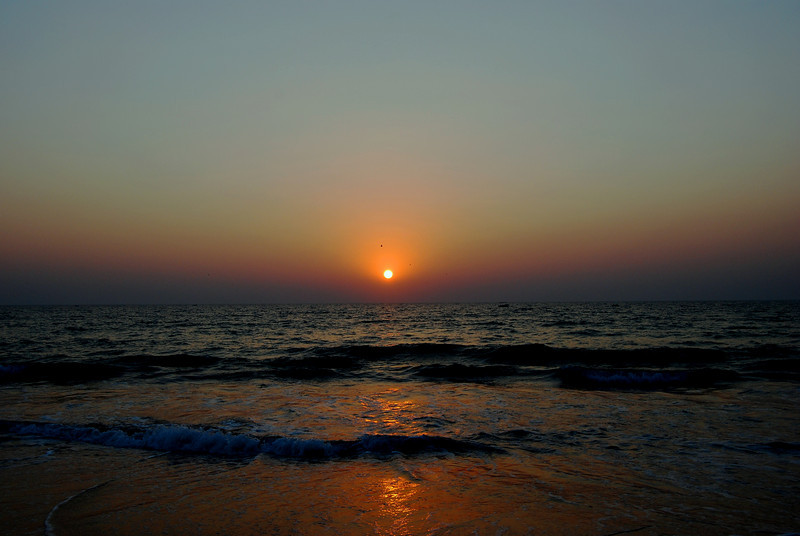 Sunset in Goa<br /> <br /> Goa, India