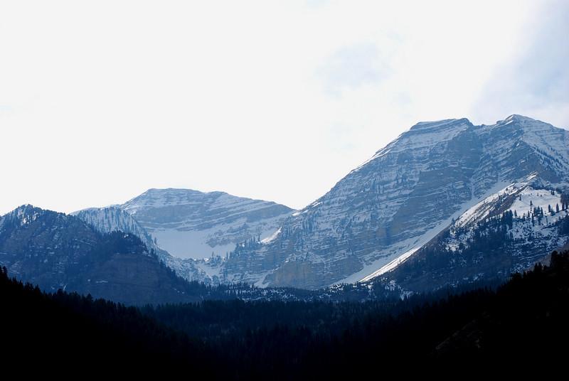 Mountain Range In Utah<br /> <br /> Salt Lake City, Utah