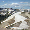This is a 5 shot panorama stitched together.   Taken at Engineer Pass near Ouray, Colorado.
