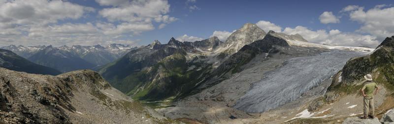 Glacier Crest Trail in Glacier NP, Canada. 09