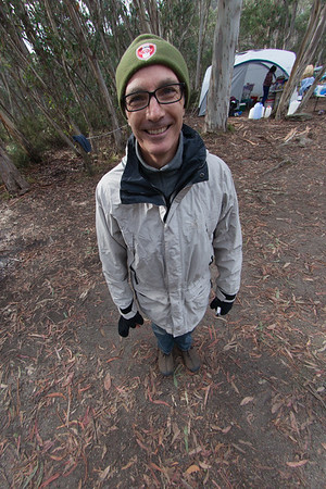 Nicholas Gold in 2012 - through a fisheye lens.