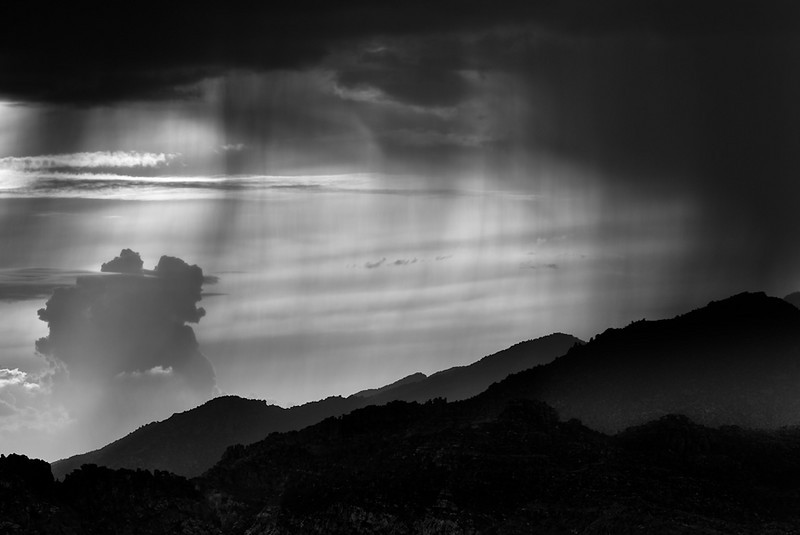 Distant Rains II (B&W)
