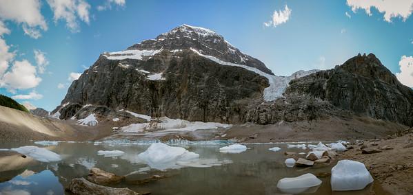 Mt Edith Cavell, Jasper National Park, Canada