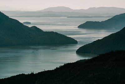 View from North Wrangell trail, Wrangell, Alaska 2013.