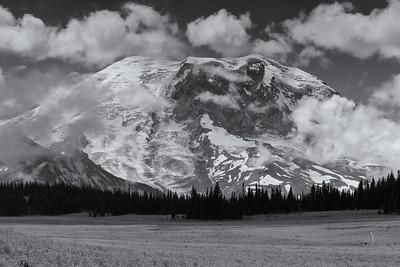 Mount Rainier from Grand Park. Mount Rainier National Park 2013