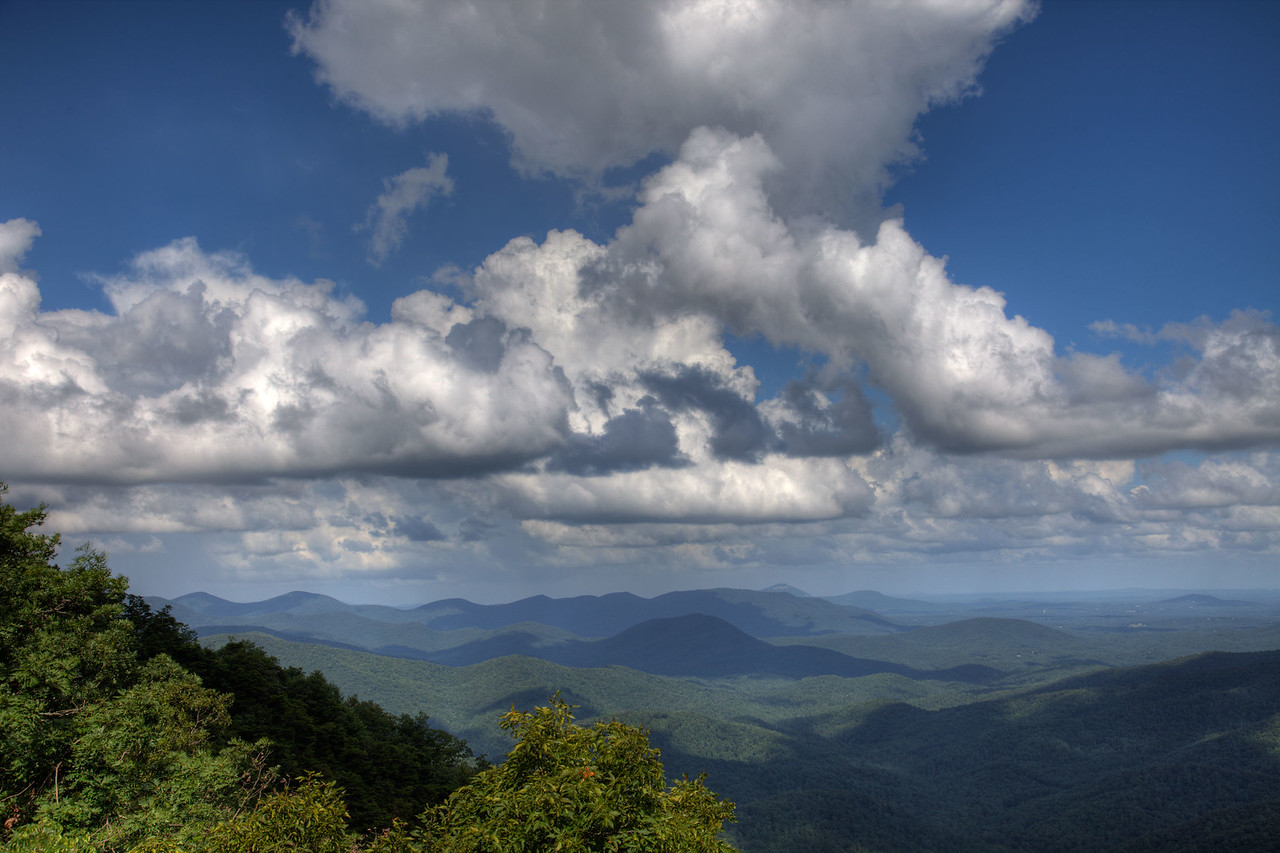 View from Preaching Rock