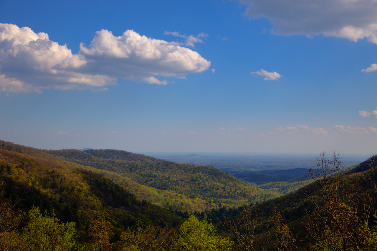 View from Neels Gap