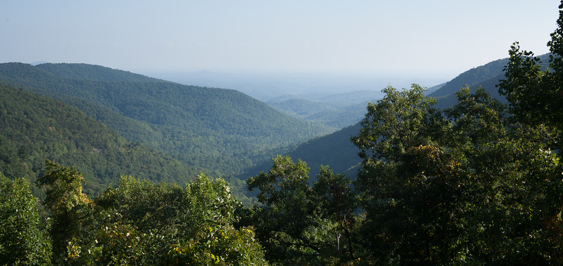 View from Neels Gap.