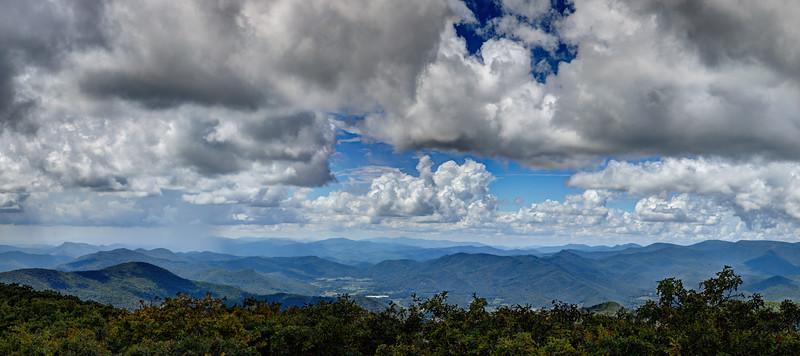 View from Rabun Bald