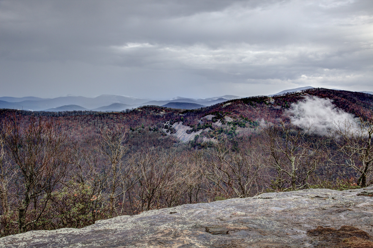 View of Cowrock Mountain from Wildcat Mountain