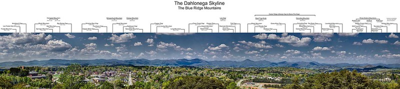 The Dahlonega Skyline