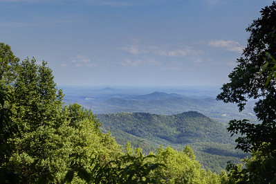 View from Woody Gap.