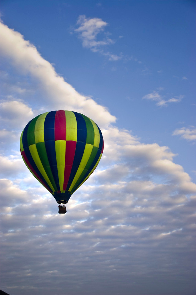 Balloon Festival at Sunset - Up Up And Away