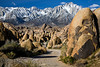 Alabama Hills and Sierra Mountains - near Lone Pine, California