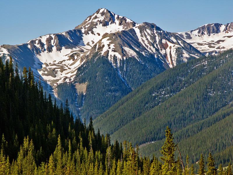 Motorcycle Chronicles:  Peak above Silverton, Colorado