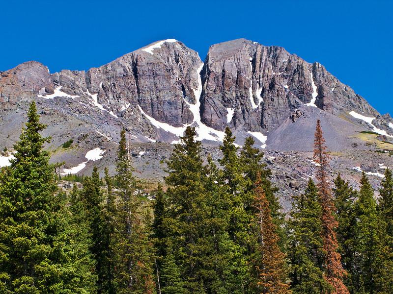 Peaks outside Silverton, Colorado