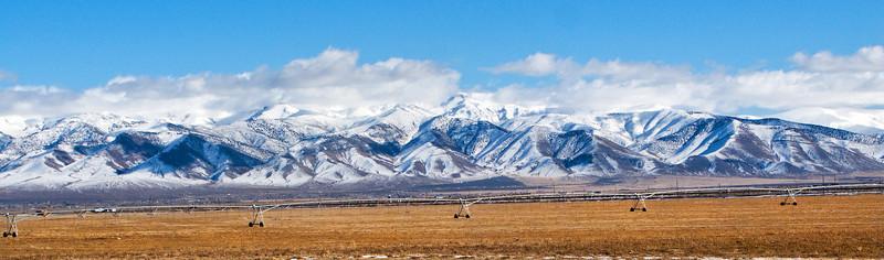 Peaks in the Nevada Desert