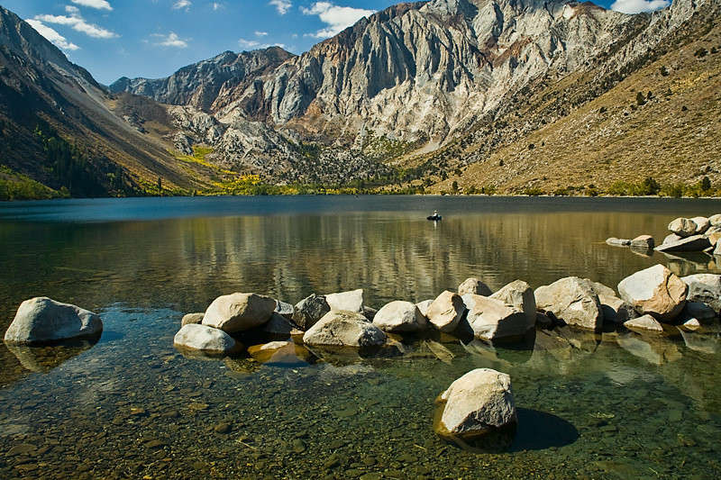 Convict Lake, Fall  - Eastern Sierra, California