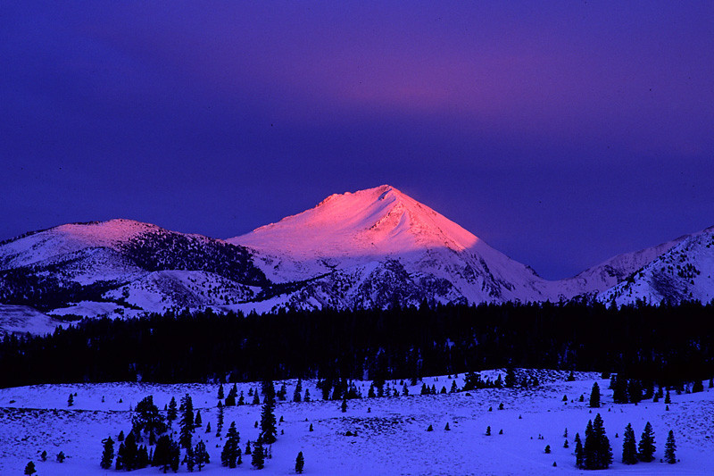 Laurel Mountain Dusk - Mammoth Lakes, California