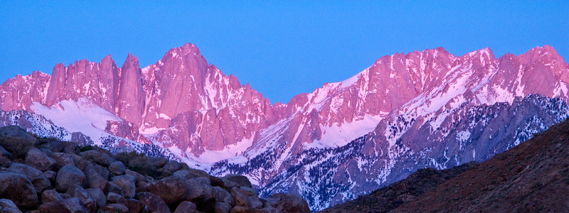First Light, Mt. Whitney