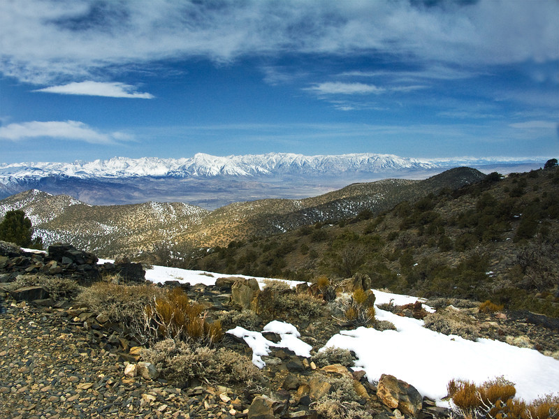 Eastern Sierras from the White Mountains 5